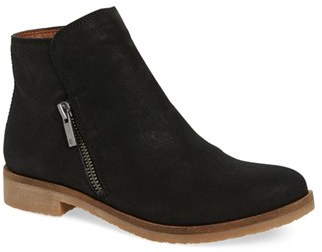 Women's Lucky Brand 'Gulvan' Zip Bootie $128.95 thestylecure.com