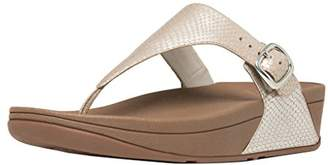 FitFlop Women's The Skinny Leather Flip-Flop Loafer