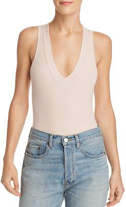 ATM Anthony Thomas Melillo V-Neck Bodysuit