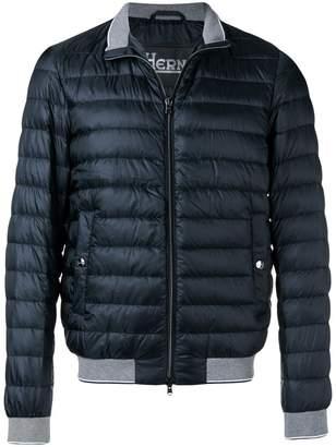 Herno padded high neck jacket