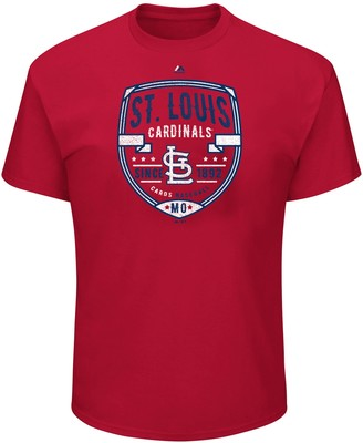 Majestic Big & Tall St. Louis Cardinals Savor the Victory Tee