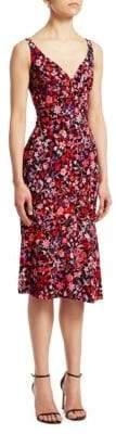 Elie Tahari Yirma Floral Sleeveless Dress