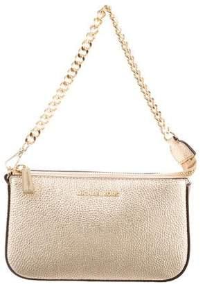 Michael Kors Metallic Leather Handle Bag