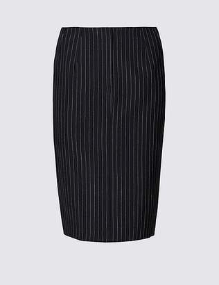 Marks and Spencer Striped Pencil Mini Skirt