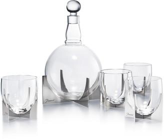 Baccarat Paraison 5-Piece Lead Crystal Decanter Set