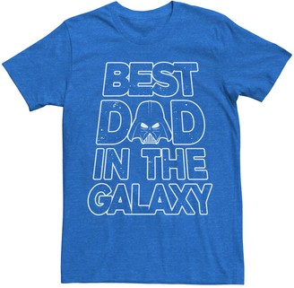 Star Wars Licensed Character Men's Best Dad Tee
