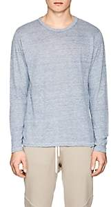 Rag & Bone Men's Owen Linen T-Shirt - Lt. Blue