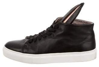 Minna Parikka Leather Bunny Sneakers