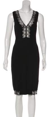 Blumarine Sleeveless Knit Dress