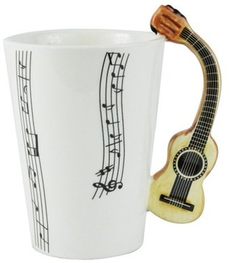 Fairly Odd Novelties Guitar Coffee Mug