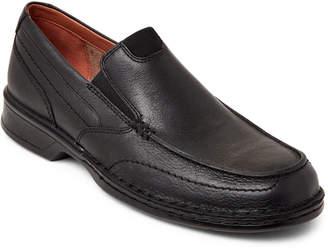 Clarks Black Northam Step Slip-Ons