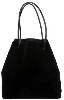 Gucci Drawstring Suede Bag