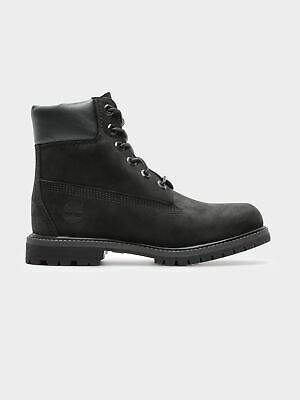 Timberland New Womens 6 Inch Premium Icon Waterproof Boots In Black Womens