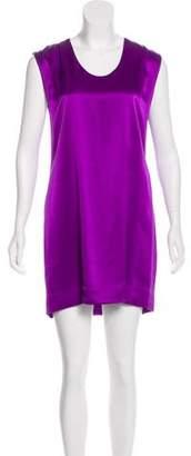 Helmut Lang Mini Silk Dress