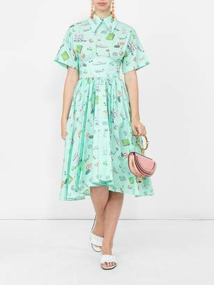 Olympia Le-Tan Olympia Le Tan Mint kawabata dress