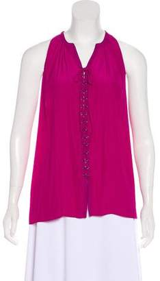 Ramy Brook Sleeveless V-Neck Top