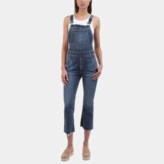 Rag & Bone Crop Flare Overall in Paz
