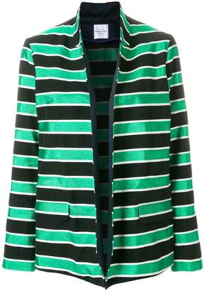 Roseanna striped oversized blazer