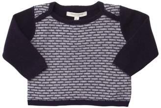 Jacquard Merino Wool Blend Sweater
