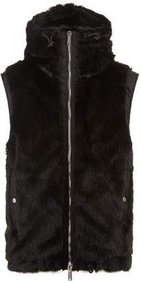 DSQUARED2 Faux Fur Gilet