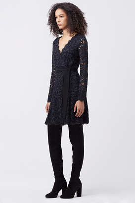 Shaelyn Lace Wrap Dress $498 thestylecure.com