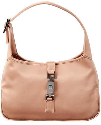 Gucci Pink Satin Mini Jackie Bag