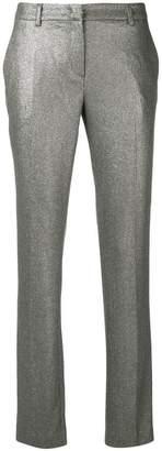 L'Autre Chose glitter effect trousers