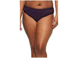 Becca by Rebecca Virtue Plus Size Captured Hipster Pant Bottoms Women's Swimwear