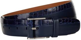 Zilli Leather Buckle Belt
