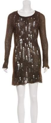 Avant Toi Cashmere Embellished Dress