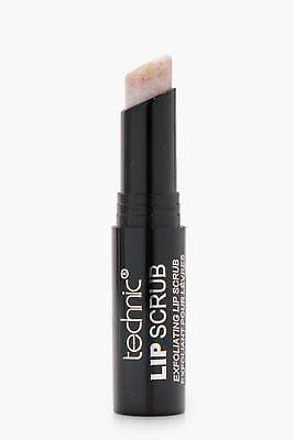 boohoo NEW Womens Technic Exfoliating Lip Scrub in Clear size One Size