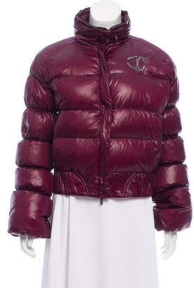 Just Cavalli Puffer Short Coat