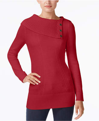 Style&Co. Style & Co Envelope-Neck Sweater