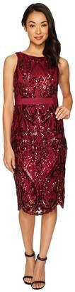Adrianna Papell Sequin Cocktail Dress Women's Dress