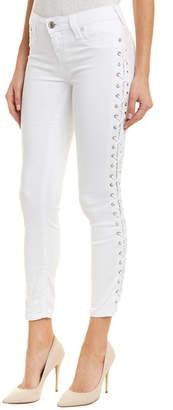 True Religion White Super Skinny Leg