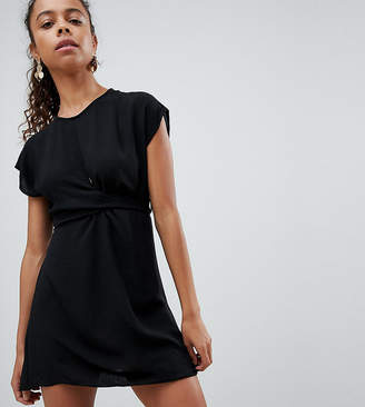 New Look Petite Knot Front Dress