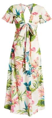 Billabong Rolling Seas Print Midi Dress
