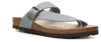 White Mountain Carly Nubuck Sandal