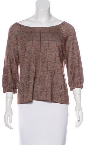 Akris Akris Cashmere & Silk-Blend Top
