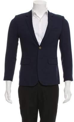 Saint Laurent Virgin Wool Two-Button Blazer