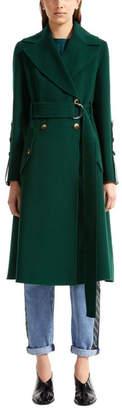 Sportmax Wool Trench Coat