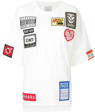 Miharayasuhiro patch T-shirt