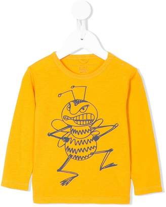 Stella McCartney bee print longsleeved T-shirt
