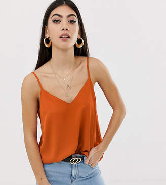 Asos DESIGN Petite eco swing cami with double layer