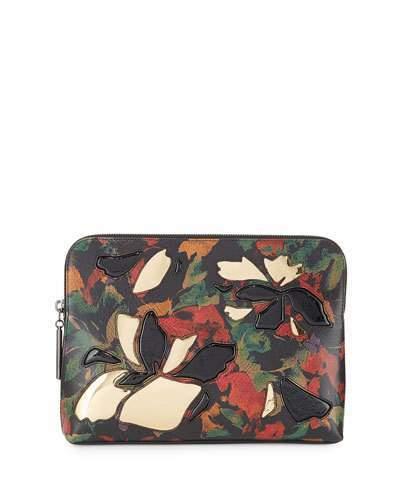 3.1 Phillip Lim3.1 Phillip Lim 31 Minute Zip Cosmetic Bag, Black/Multi/Gold