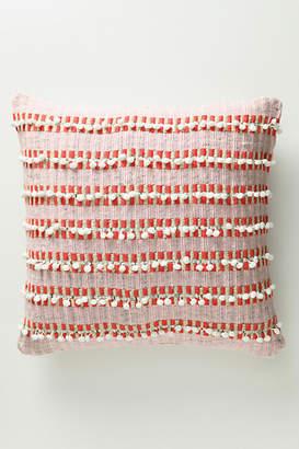 Anthropologie Raquelle Textured Stripe Pillow