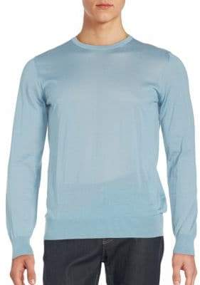 Giorgio Armani Slim Fit Crewneck Sweater