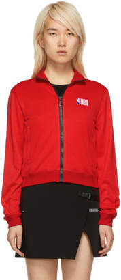 Marcelo Burlon County of Milan Red NBA Edition Track Jacket