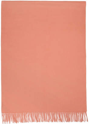 Acne Studios Pink New Canada Scarf