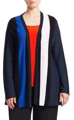 Marina Rinaldi Marina Rinaldi, Plus Size Edge To Edge A-Line Cardigan